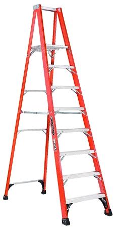 Louisville Fiberglass Platform Ladder 6' 375lbs. Capacity