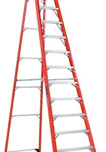 Louisville Fiberglass Platform Ladder 10' 375lbs. Capacity