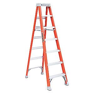 Louisville 7' Fiberglass Step Ladder