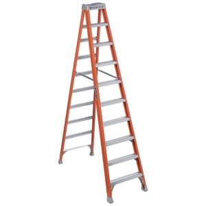 Louisville 10' Fiberglass Step Ladder