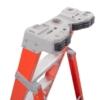Louisville Step to Shelf Ladder 8' 300lbs. Capacity
