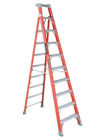 Louisville Step to Shelf Ladder 10' 300lbs. Capacity