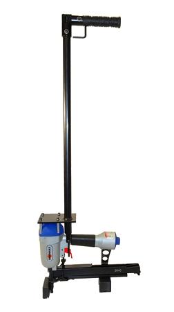 """16 Gauge 1"""" Wide Crown Radiant Floor Stapler"""
