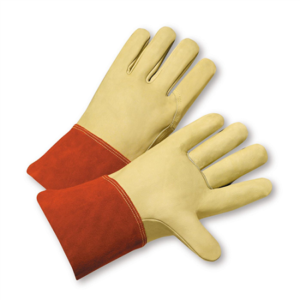 Premium Top Grain Cowhide Welder Gloves, Dozen