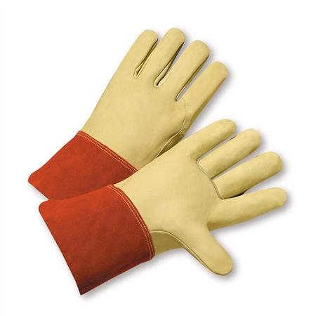 Premium Top Grain Cowhide Welder Gloves, Dozen