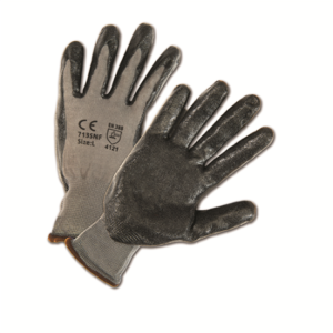 Foam Nitrile Palm Coated Nylon Gloves, Dozen