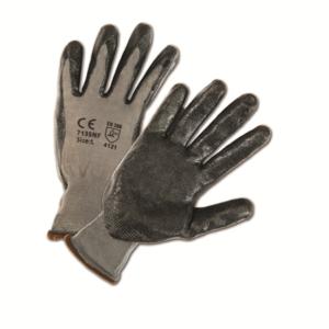 Foam Nitrile Palm Coated Nylon Gloves, Dozen