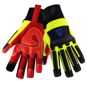 R2 Safety Rigger Glove with Hook & Loop Wrist, Dozen