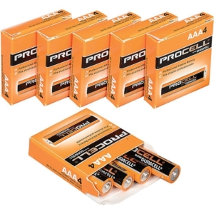 PROCELL DURACELL AAA BATTERIES