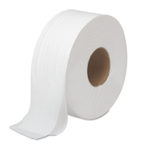 JRT Bath Tissue, Jumbo, 2-Ply, White