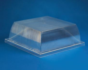 "Acrylic Clear Security Enclosure H-4.01"" W- 10.63"" L- 10.63"""