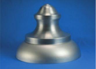 """Aluminum Top H- 13.18"""" ID- 16.56"""""""