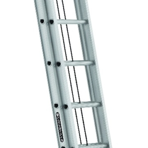 Louisville 20' Aluminum Extension Ladder 300lbs. Capacity
