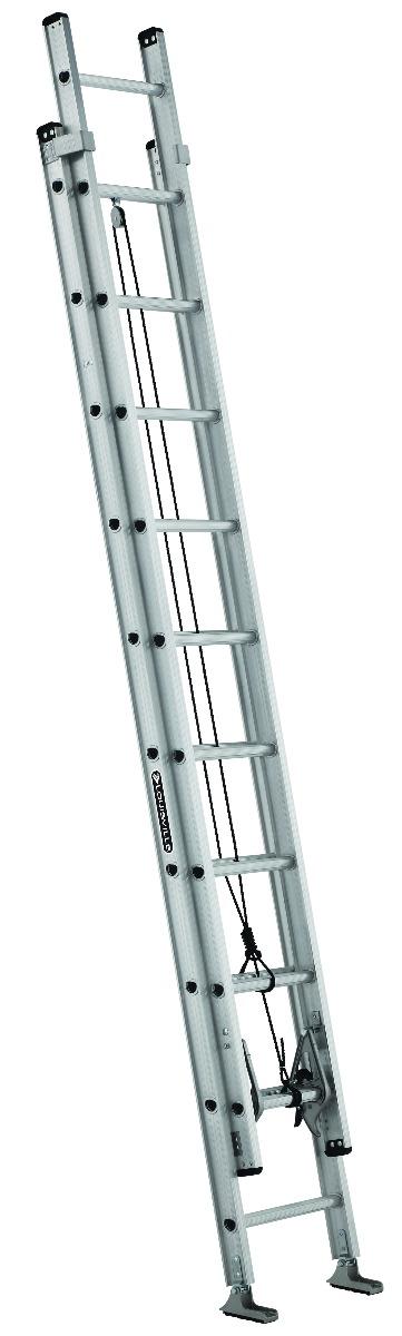 Louisville 20' Aluminum Extension Ladder 300lbs. Capacity
