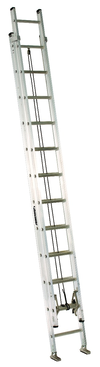 Louisville 24' Aluminum Extension Ladder 300lbs. Capacity