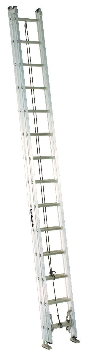 Louisville 28' Aluminum Extension Ladder 300lbs. Capacity