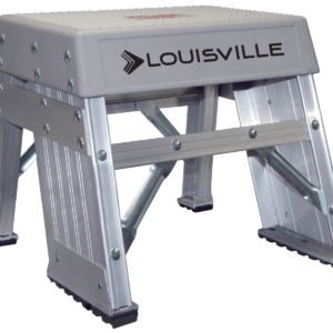 Louisville 1' Aluminum Industrial Step Stool 300lbs. Capacity