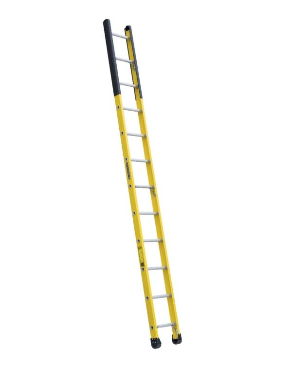 Louisville 12' Fiberglass Extension Single Manhole Ladder 375lbs. Capacity