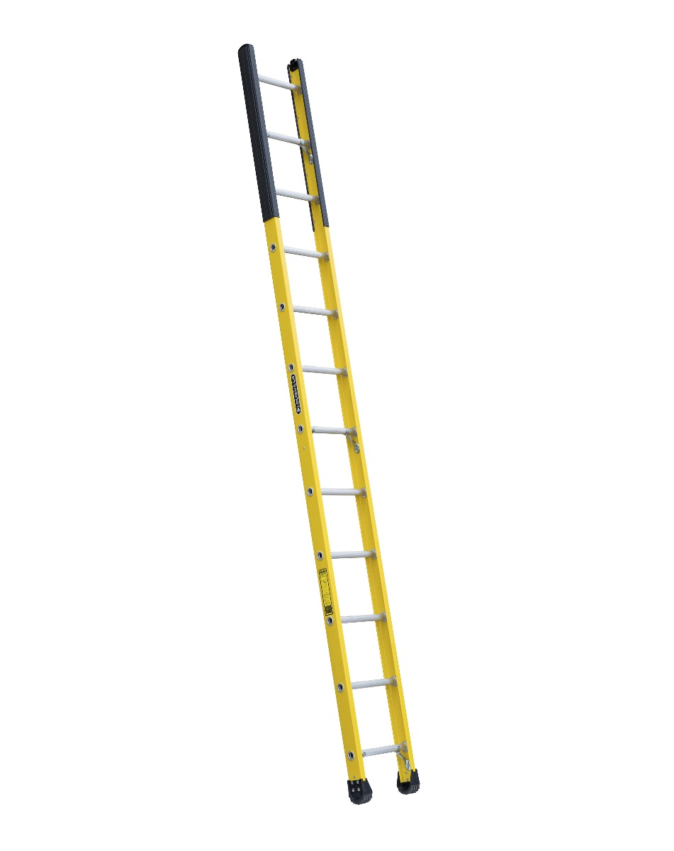 Louisville 12' Fiberglass Extension Single Manhole Ladder 375lbs. Capacity