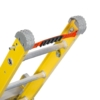 Louisville 8' Fiberglass Step to Straight Ladder 375lb. Capacity