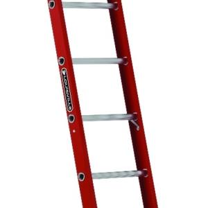 Louisville 10' Fiberglass Single Ladder 300lbs. Capacity