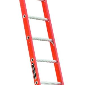 Louisville 12' Fiberglass Single Ladder 300lbs. Capacity