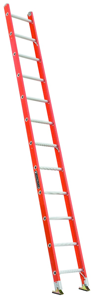Louisville 12' Fiberglass Single Ladder 300lbs. Capacity