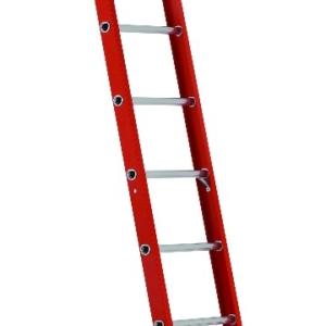 Louisville 14' Fiberglass Single Ladder 300lbs. Capacity