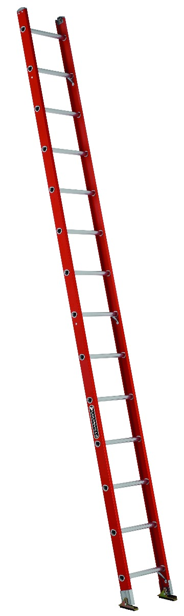 Louisville 14' Fiberglass Single Ladder 300lbs. Capacity