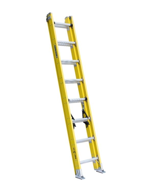 Louisville 16' Fiberglass Extension Ladder 375lbs. Capacity
