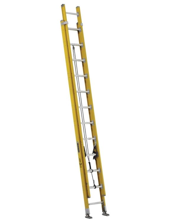 Louisville 24' Fiberglass Extension Ladder 375lbs. Capacity