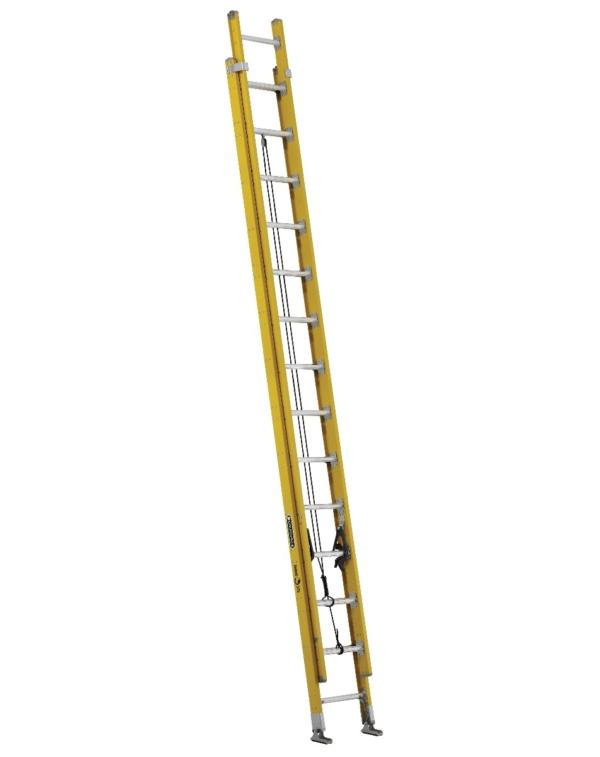 Louisville 28' Fiberglass Extension Ladder 375lbs. Capacity