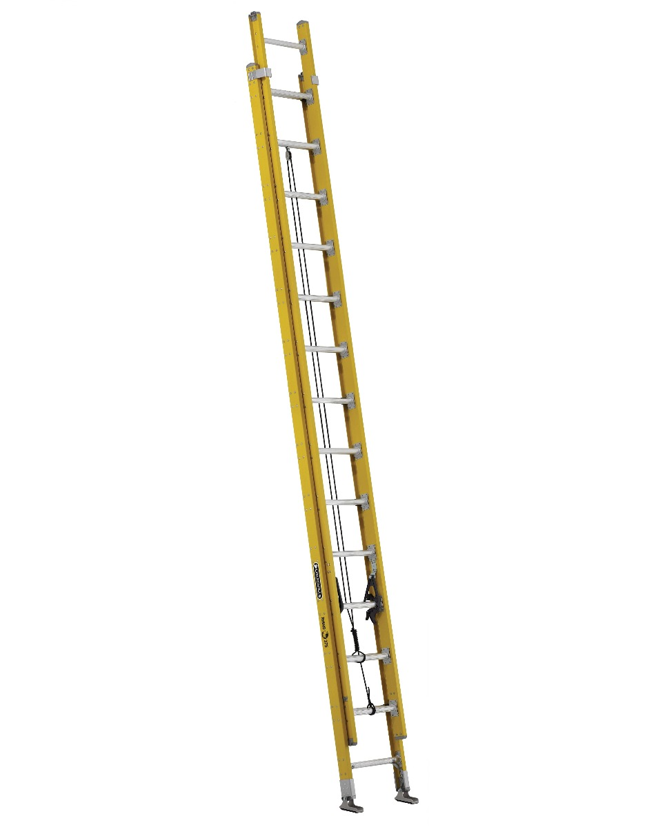 Louisville 28' Fiberglass Extension Ladder 375lbs. Capacity