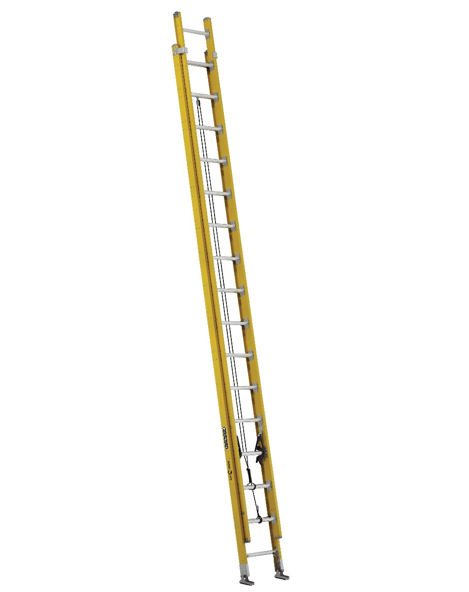 Louisville 32' Fiberglass Extension Ladder 375lbs. Capacity
