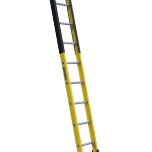 Louisville 8' Fiberglass Extension Single Manhole Ladder 375lbs. Capacity