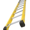 Louisville 10' Fiberglass Extension Single Manhole Ladder 375lbs. Capacity