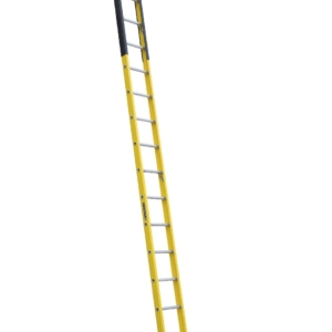 Louisville 14' Fiberglass Extension Single Manhole Ladder 375lbs. Capacity