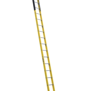 Louisville 16' Fiberglass Extension Single Manhole Ladder 375lbs. Capacity