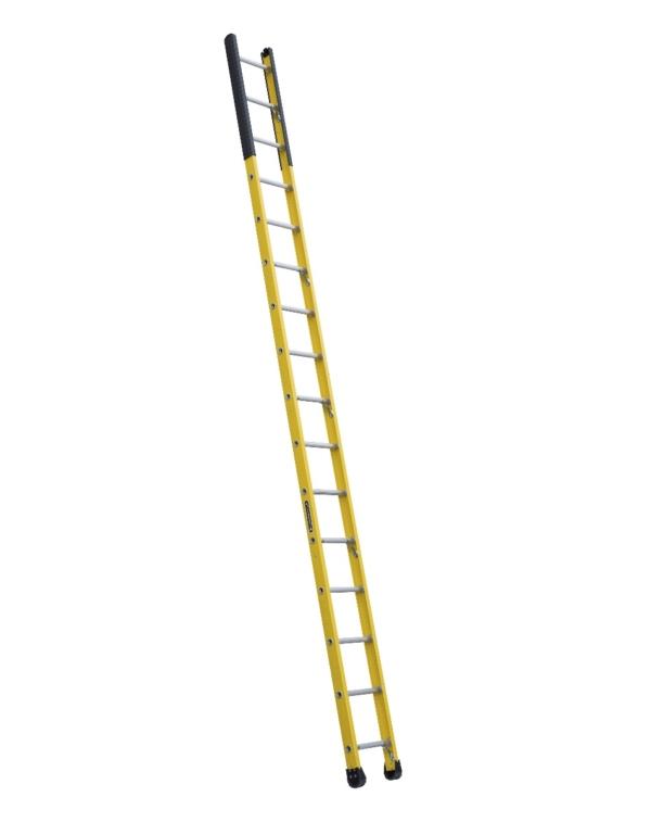 Louisville 16' Fiberglass Extension Single Manhole Ladder 375lbs. Capacity