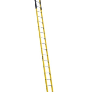 Louisville 18' Fiberglass Extension Single Manhole Ladder 375lbs. Capacity