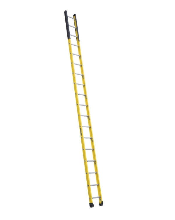 Louisville 18' Fiberglass Extension Single Manhole Ladder 375lbs. Capacity