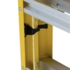 Louisville 8' Fiberglass Step to Shelf Ladder 375lb. Capacity
