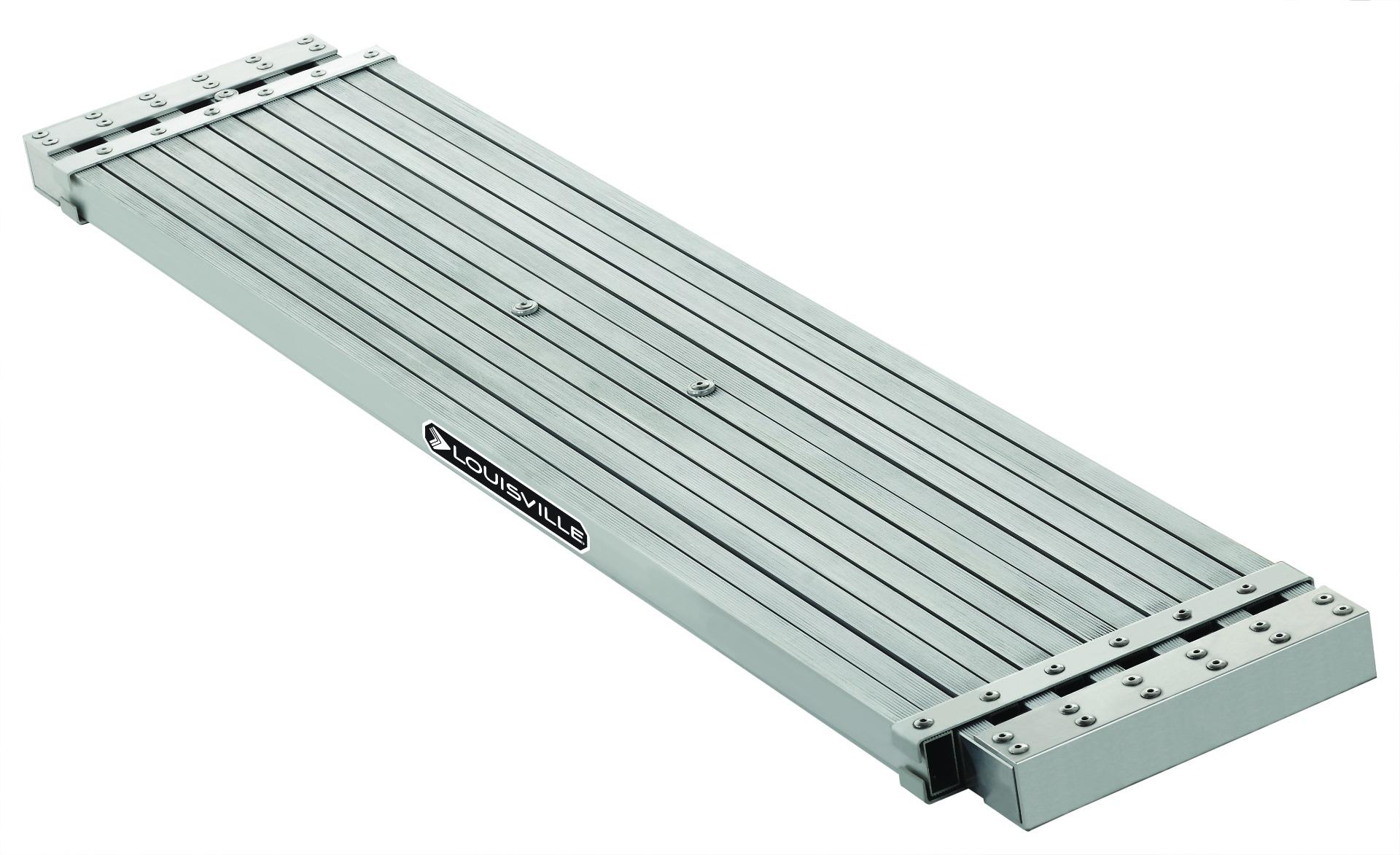 Louisville 16' Aluminium Medium-Duty Telescoping Plank 250lb. Rated