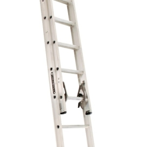 Louisville 16' Aluminum Extension Ladder 300lbs. Capacity