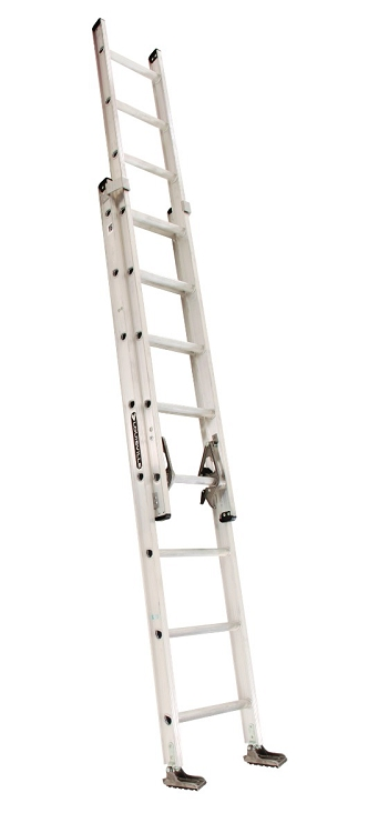 Louisville 16' Aluminum Extension Ladder 300lbs. Capacity