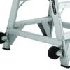 Louisville 3' Aluminum Twin Front Rolling Ladder