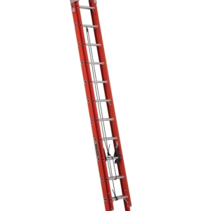 Louisville 24' Fiberglass Extension Ladder 300lbs. Capacity