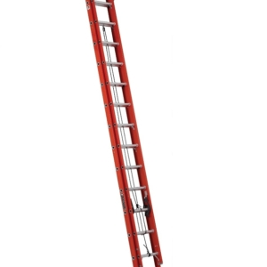 Louisville 28' Fiberglass Extension Ladder 300lbs. Capacity