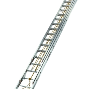 Louisville 60' Aluminum 3-Section Extension Ladder 250lbs. Capacity