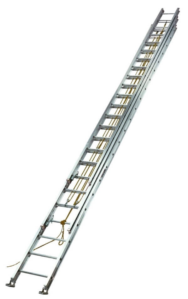 Louisville 60' Aluminum 3-Section Extension Ladder 250lbs  Capacity
